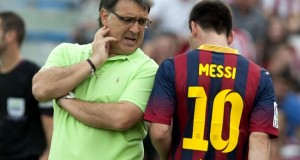 MARTINO VE POSIBLE LA SALIDA DE MESSI