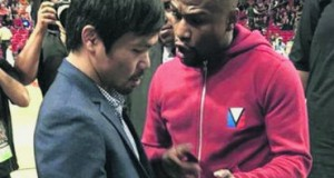 Se encuentran Pacquiao y 'Money'