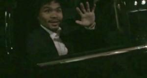 Manny Pacquiao ya está en Los Ángeles