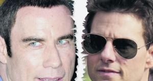 John Travolta y Tom Cruise se pelean