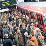 Huelga de trenes en Alemania afecta a millones de viajeros
