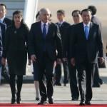 Primer ministro chino llega a Chile