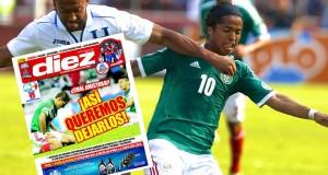 Prensa hondureña calienta partido ante México