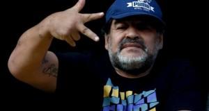 """""""Voy por la FIFA para acabar con la mafia"""": Maradona"""