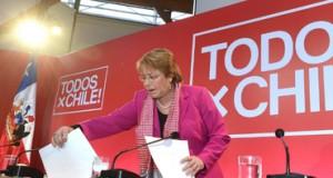 Michelle Bachelet anuncia 'segunda etapa de gobierno'