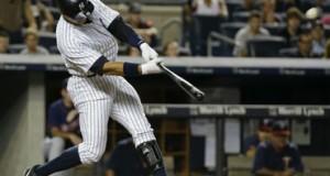 Álex Rodríguez suena grand slam en remontada de los Yankees