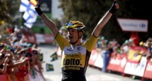 Holandés Lindeman gana la etapa de la Vuelta