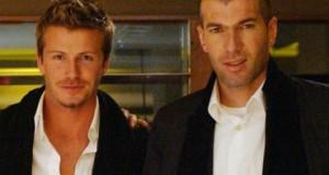 Beckham y Zidane participarán en amistoso en Manchester