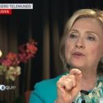 Hillary Clinton promete frenar deportación de padres y separación de familias