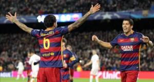 Barcelona y Bayern a octavos como primeros y a ritmo de goleada